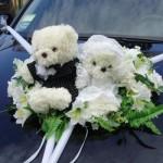 Мишка на главную свадебную машину